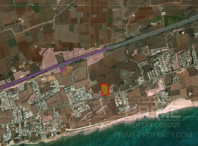 Land in  (Ayia Thekla) for sale