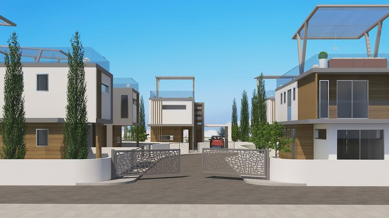 Modern Design 3 Bedroom Villa with Roof Garden in Ayia Triada properties for sale in cyprus