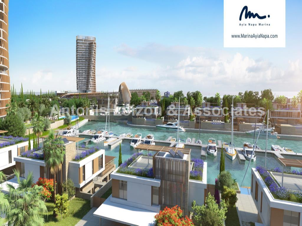 Four Bedroom Beachfront  Apartment East Tower Agia Napa Marina properties for sale in cyprus
