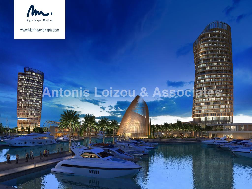 Entire floor Four Bedroom Penthouse Agia Napa Marina properties for sale in cyprus