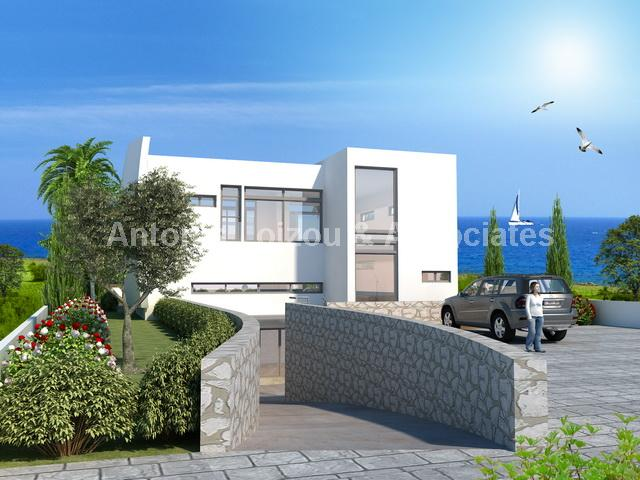 Luxurious Five Bedroom Sea Front Villa with Panoramic Sea Views properties for sale in cyprus