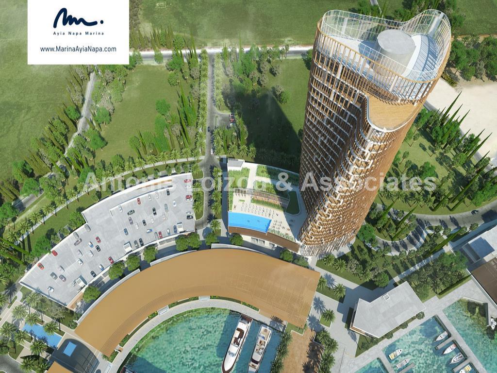 Four Bedroom Beachfront  Apartment East Tower Agia Napa Marina