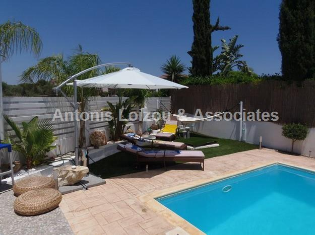 Two Bedroom House with Private Pool and Title Deeds in Agia Thek properties for sale in cyprus