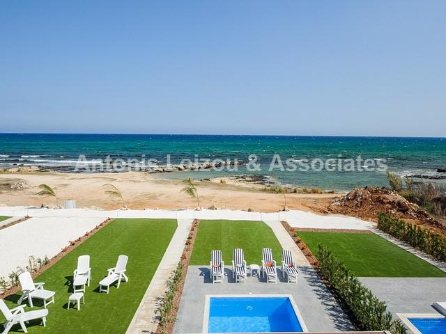 Three Bedroom Beach Front Villa in Agia Thekla properties for sale in cyprus