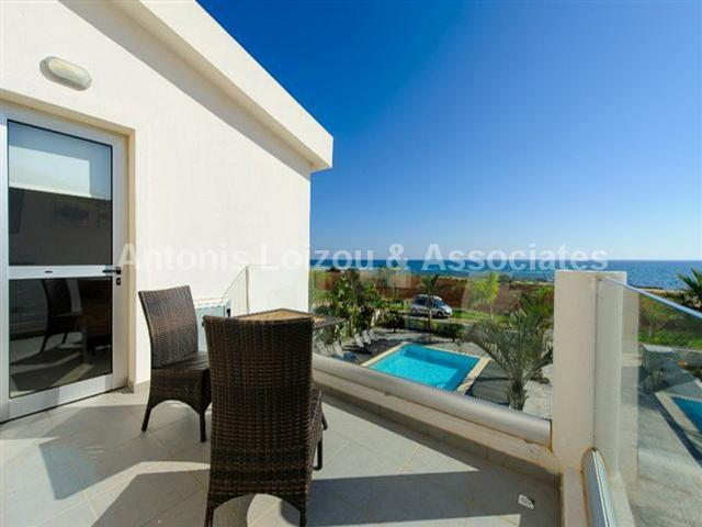 Three Bedroom Beach Front Detached Villa in Agia Thekla properties for sale in cyprus