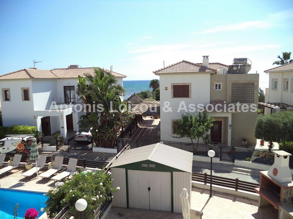Three Bedroom Detached Villa 70 Meters from the Beach  in Agia T properties for sale in cyprus