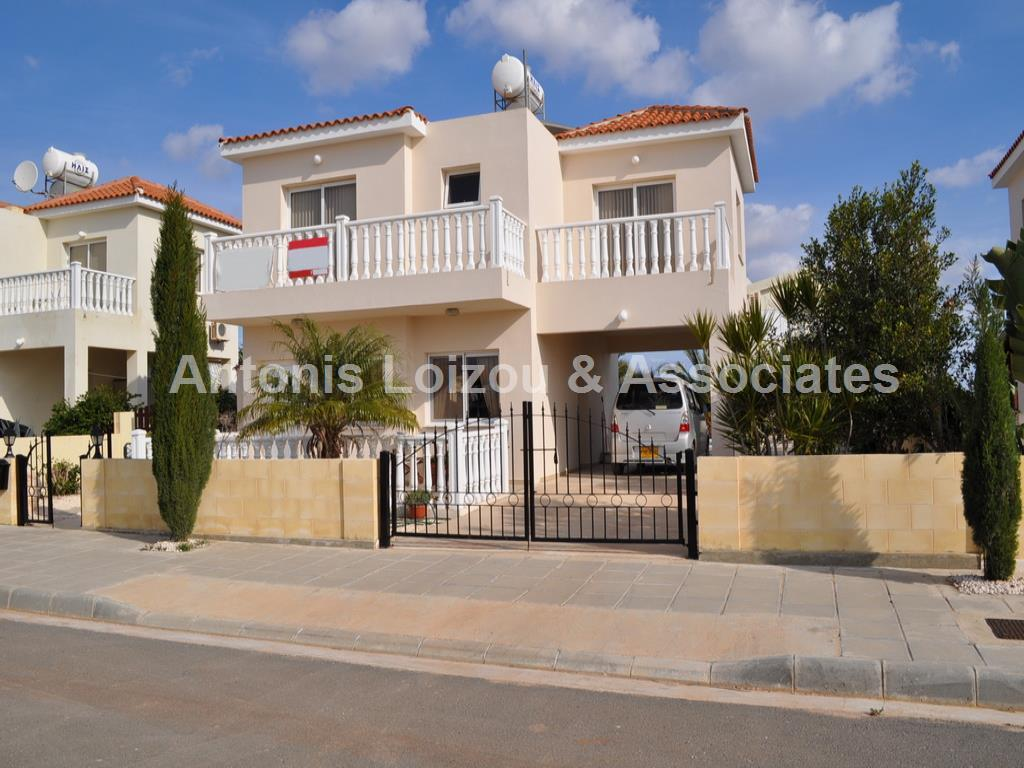 Three Bedroom Detached Villa 200 Meters from the Beach in Agia T properties for sale in cyprus