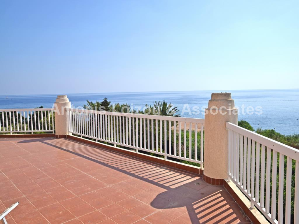 Three Bedroom Beach Front Villa and 2 x Two Bedroom Semi Detache properties for sale in cyprus