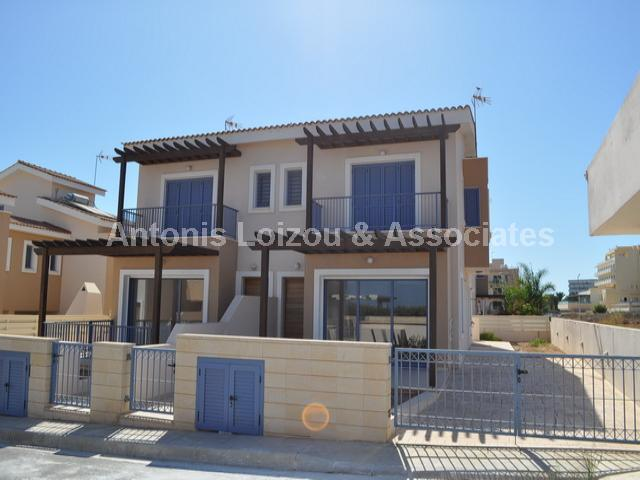 Three Bedroom Semi Detached Villa 100 Meters From The Beach properties for sale in cyprus