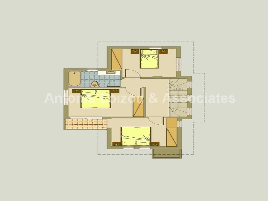 Three Bedroom Detached Villas in Agia Triada properties for sale in cyprus