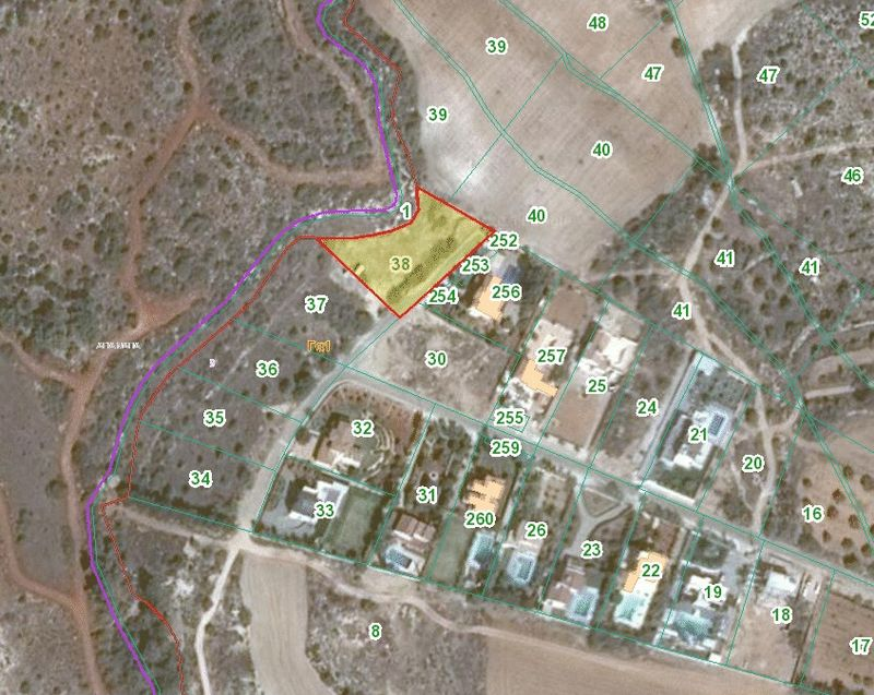 Rare Opportunity to buy a Building Plot with Sea Views properties for sale in cyprus