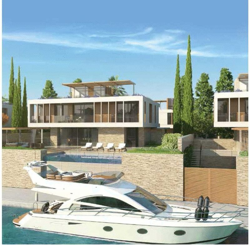 Sea Front Four Bedroom Villa within Ayia Napa Marina properties for sale in cyprus