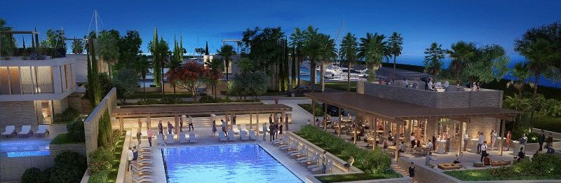 Sea Front Two Bedroom Apartment within Ayia Napa Marina properties for sale in cyprus