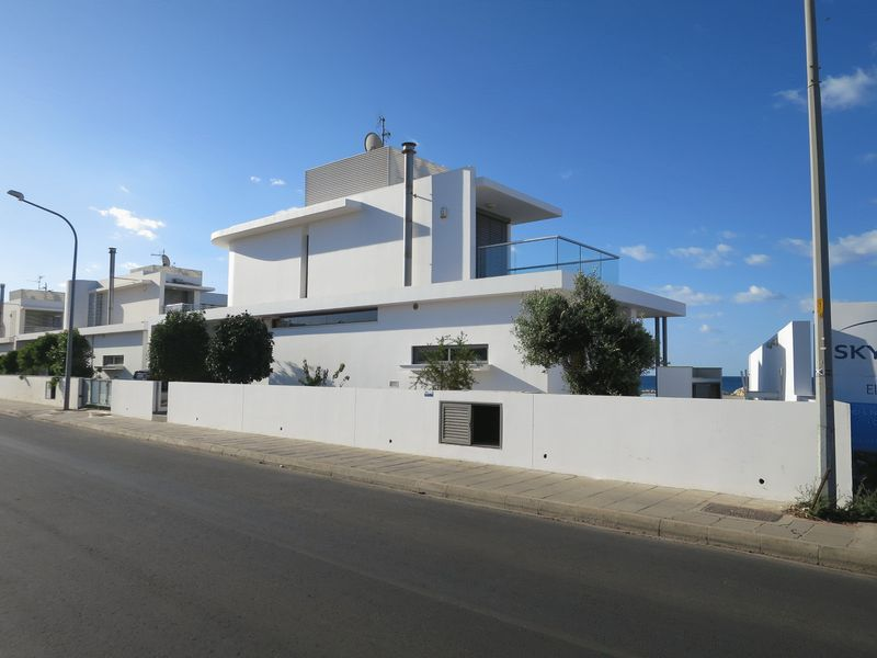 Modern Sea Front Villa in Ayia Napa Limanaki Area with Title Deeds properties for sale in cyprus