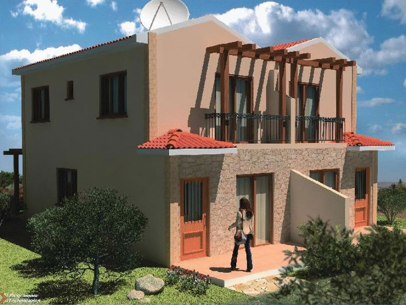 Semi-Detached 2 Bedroom House in Ayia Napa properties for sale in cyprus