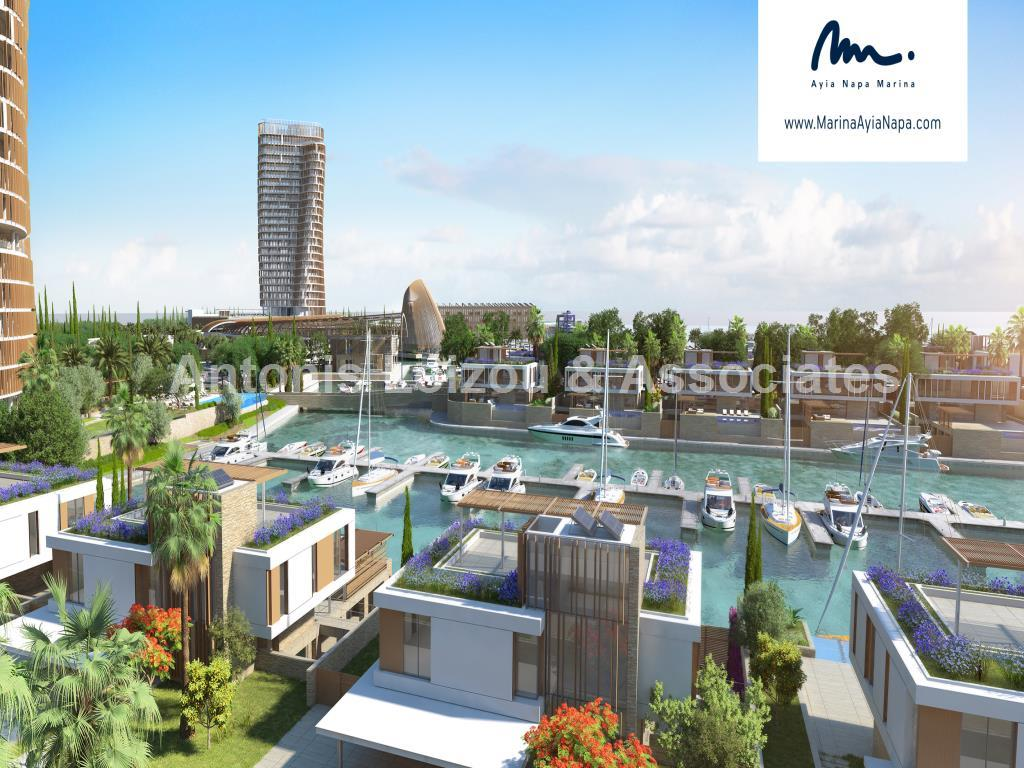 Two Bedroom Beachfront Apartment on East Tower Ayia Napa Marina properties for sale in cyprus
