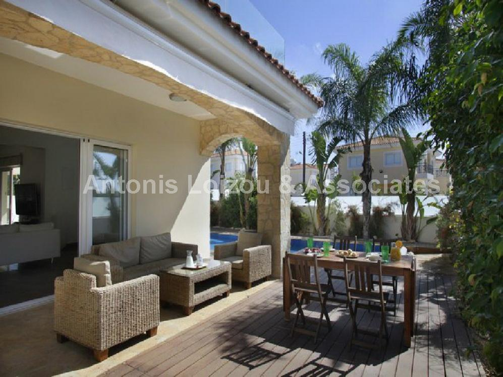 Three Bedroom Detached Villa with Title Deed properties for sale in cyprus