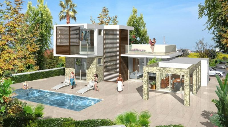 4 Bedroom Sea Front Villa in Ayia Thekla properties for sale in cyprus