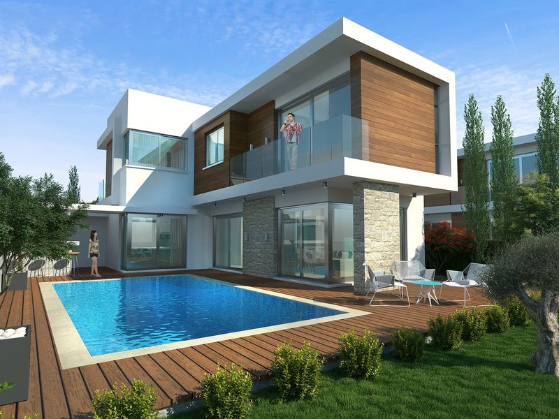 Modern 3 Bedroom Villa near the Marina in Ayia Thekla properties for sale in cyprus