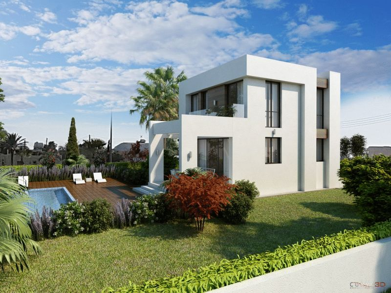 Modern Desing 3 Bedroom Detached Villas with Private Pool in Ayia Thekla properties for sale in cyprus