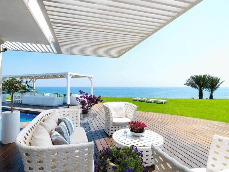 Magnificent Sea Front Villa in Sirena Bay Ayia Triada properties for sale in cyprus