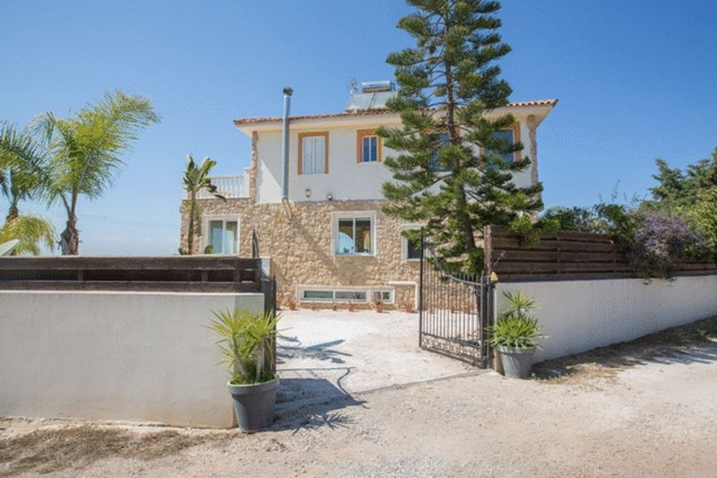 Beautiful 3 Bedroom Villa with Panoramic Sea Views in Fanos, Protaras properties for sale in cyprus