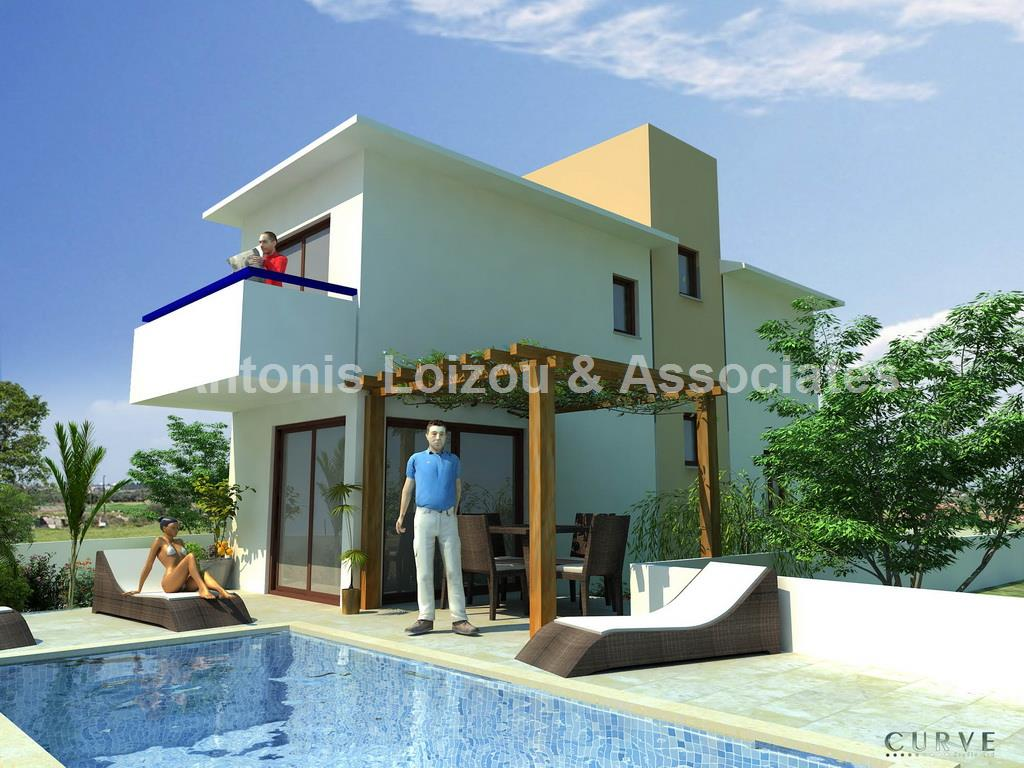 Three Bedroom detached Villa with Pool in Cape Greco properties for sale in cyprus