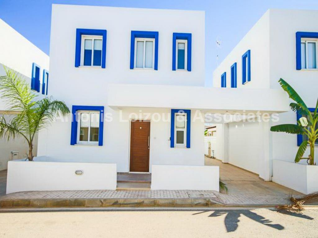 Three Bedroom Link Detached Villa 150 from the Beach with Title  properties for sale in cyprus