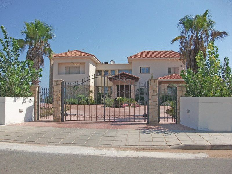 Large Mansion with Sea View in Protaras Hills