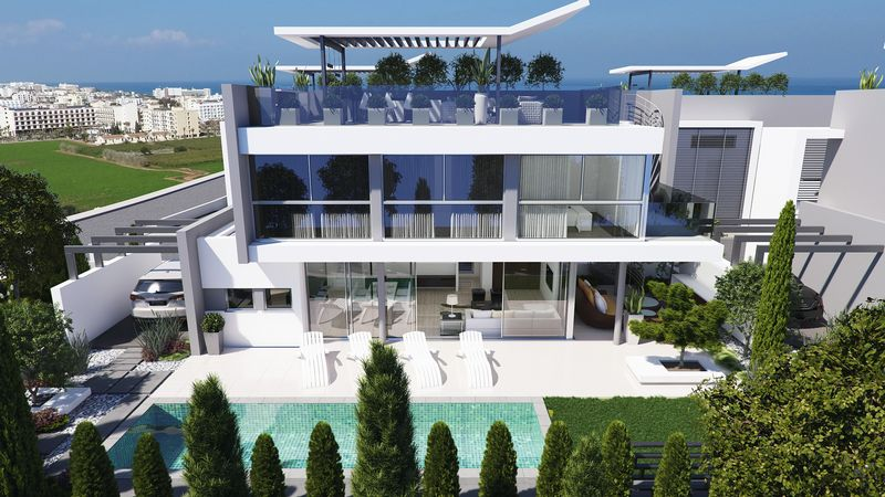 Modern 3 Bedroom Villa with Sea Views properties for sale in cyprus