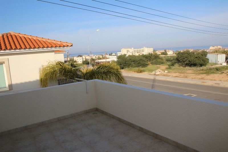 Two Bedroom Apartment with Large Balcony and Sea View in Pernera