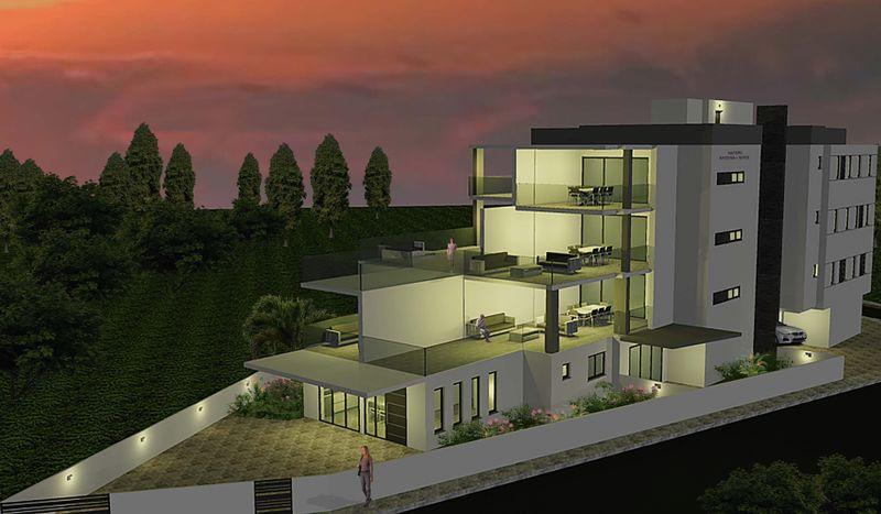 Amazing 3 bedroom Apartment with big Veranda in Derynia properties for sale in cyprus