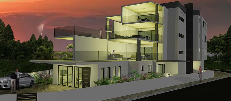 Modern 3 Bedroom Penthouse Apartment with Sea Views in Derynia properties for sale in cyprus