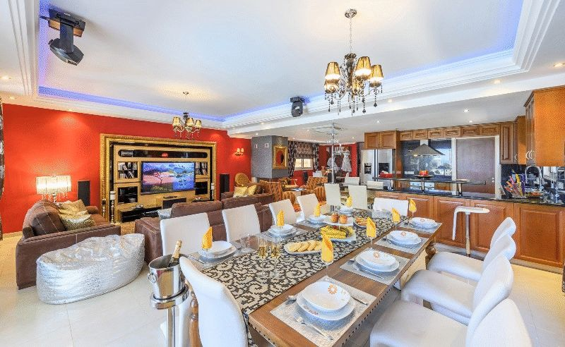 Luxury Five Bedroom, Beach Front Villa with Title Deeds in Kapparis properties for sale in cyprus