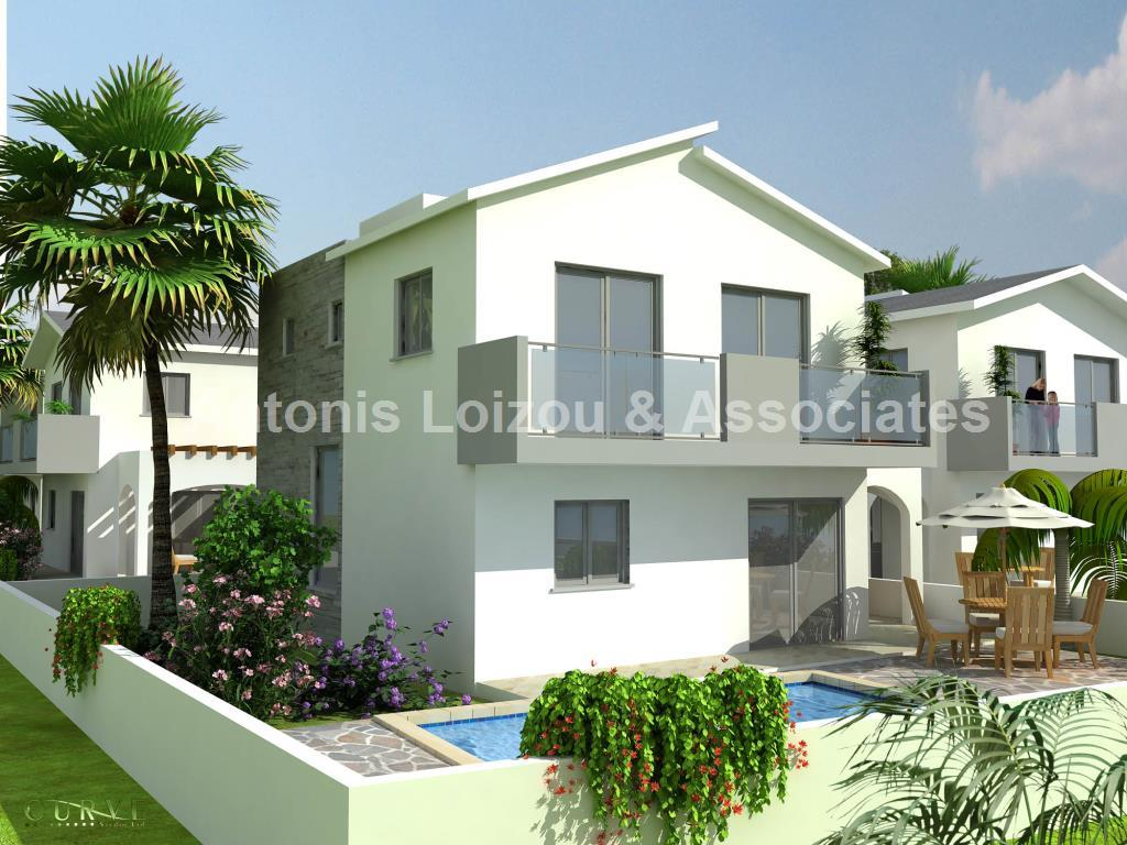 Brand New 3 Bedroom House 50 meters from the Beach properties for sale in cyprus