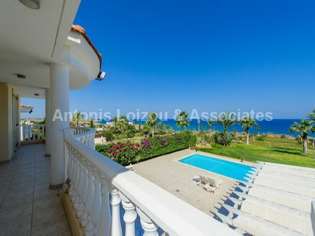 Luxurious Five Bedroom Beach Front Villa properties for sale in cyprus