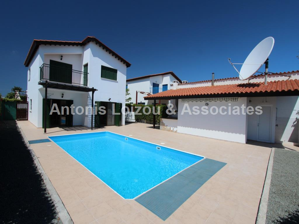 Three Bedroom Detached Vila with Deed in Kapparis properties for sale in cyprus