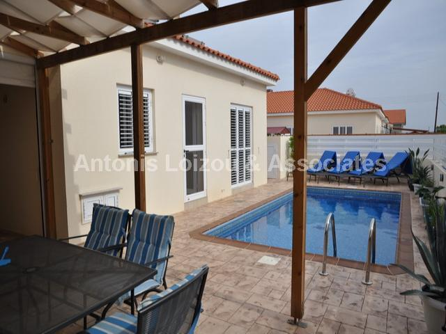 Two Bedroom Link Detached Bungalow properties for sale in cyprus