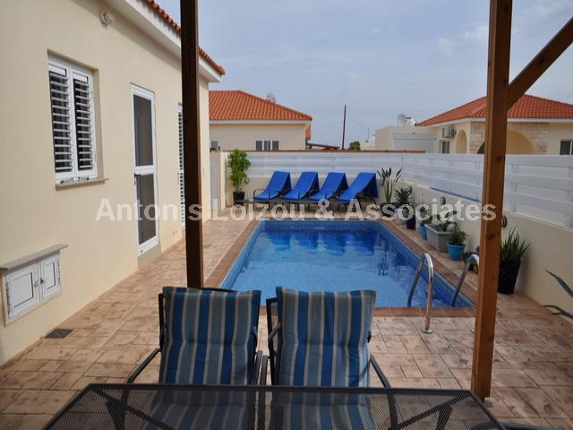 Two Bedroom Link Detached Bungalow in Liopetri properties for sale in cyprus