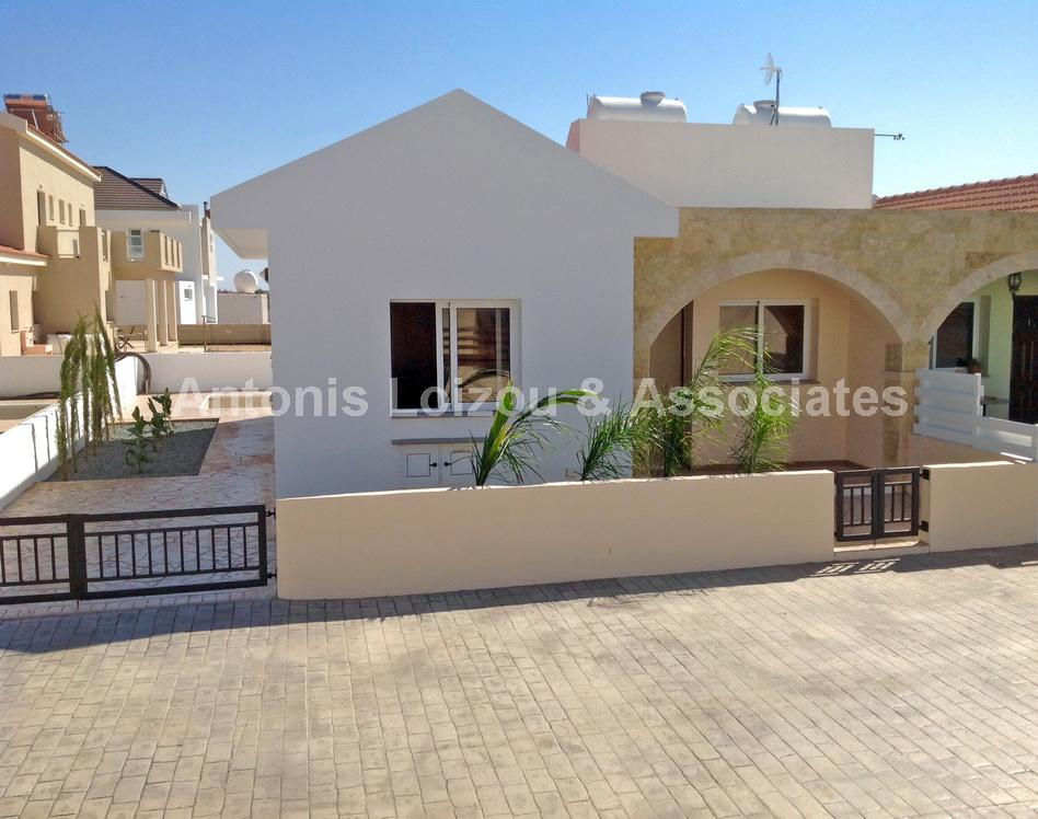 Two Bedroom Semi Detached Bungalow with Title Deed in Liopetri properties for sale in cyprus