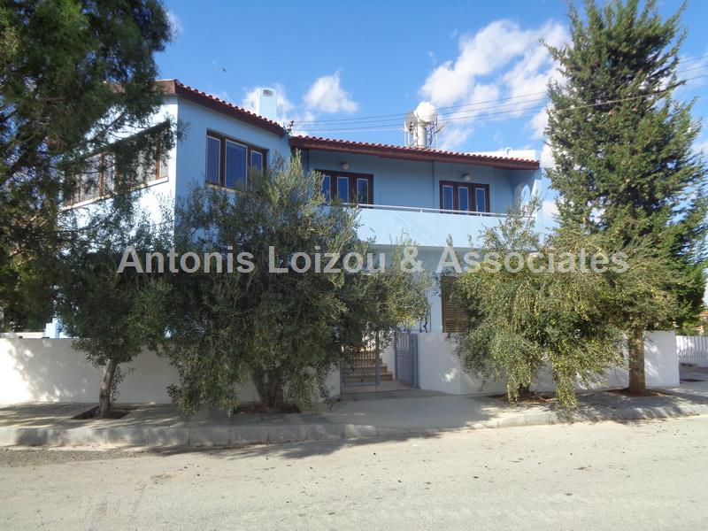Three Bedroom House with Title Deed and Sea View in Paralimni