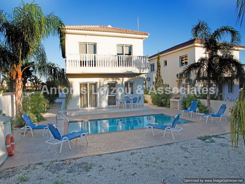 Three Bedroom Detached Villa in Agia Napa