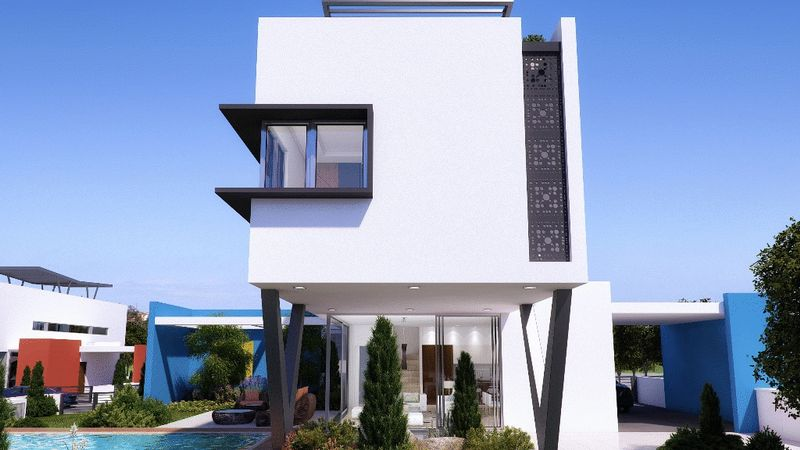 Contemporary 3 bed Villa with large plot within the Resort Center properties for sale in cyprus