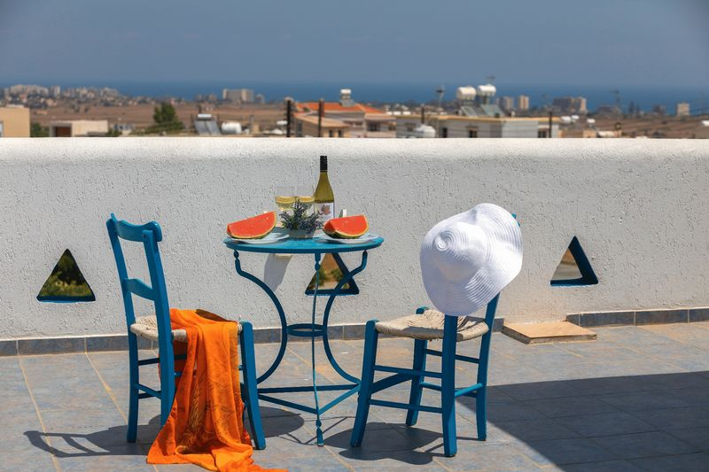 Grecian Style Villa with Roof Garden and Title Deeds in Paralimni properties for sale in cyprus