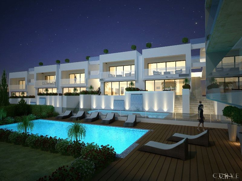 Modern second Floor Apartment properties for sale in cyprus