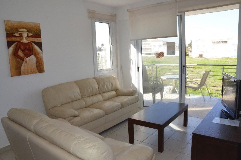 Two Bedroom Apartment with Sea View and Title Deeds properties for sale in cyprus