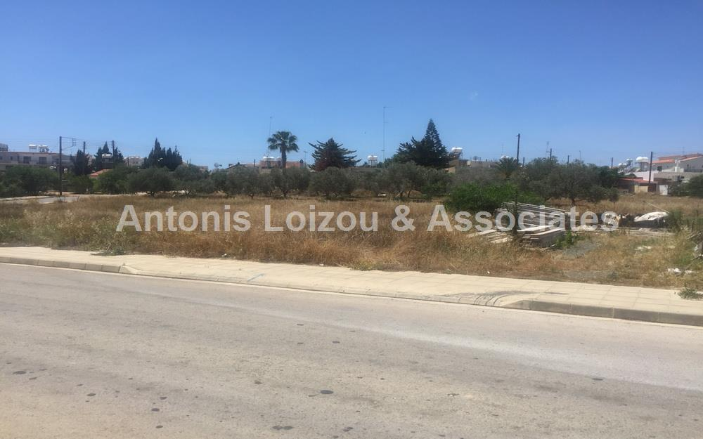 Residential Plot for Sale in Paralimni near Metro Supermarket properties for sale in cyprus
