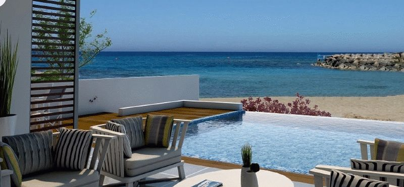 Five Bedroom Deluxe Beach Front Villa properties for sale in cyprus