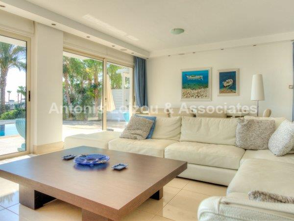 Four Bedroom Beach Front Villa in Pernera properties for sale in cyprus