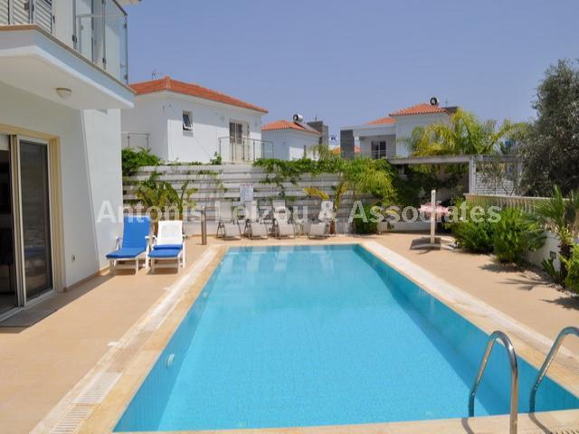 Luxurious Three Bedroom Villa with Swimming Pool properties for sale in cyprus